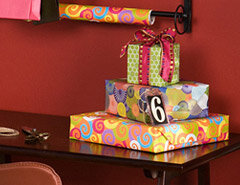 How to Create a Gift Wrapping Station