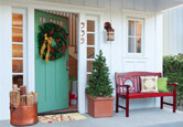 Front Porch: Craftsman-Style Holiday Porch
