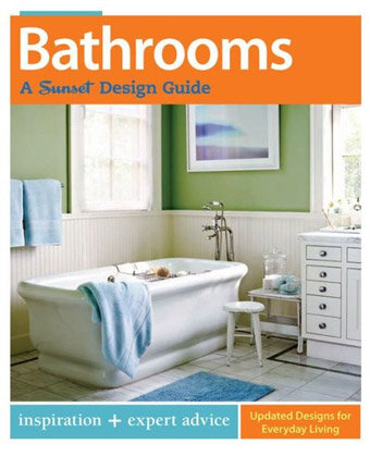 Bathrooms a sunset design guide book review wayfair for Bathroom planning guide