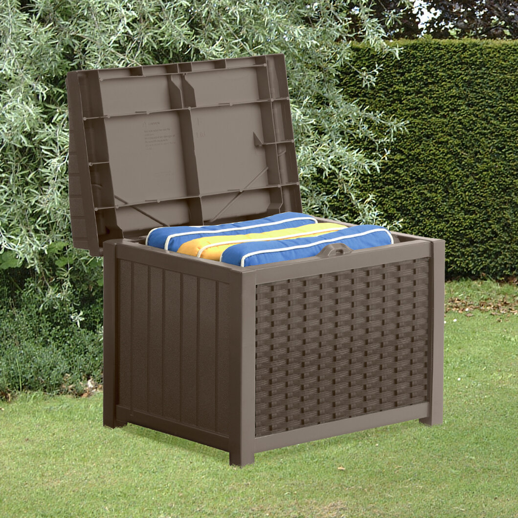 Garden Storage Box Storage Bench Seat Deck Patio Pool