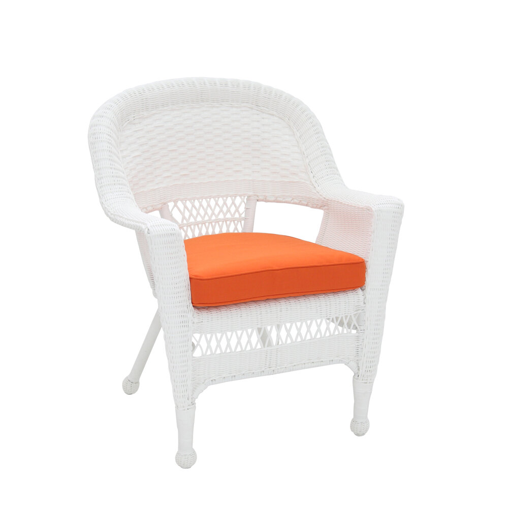 lounge outdoor indoor wicker seat chair color option cushion set
