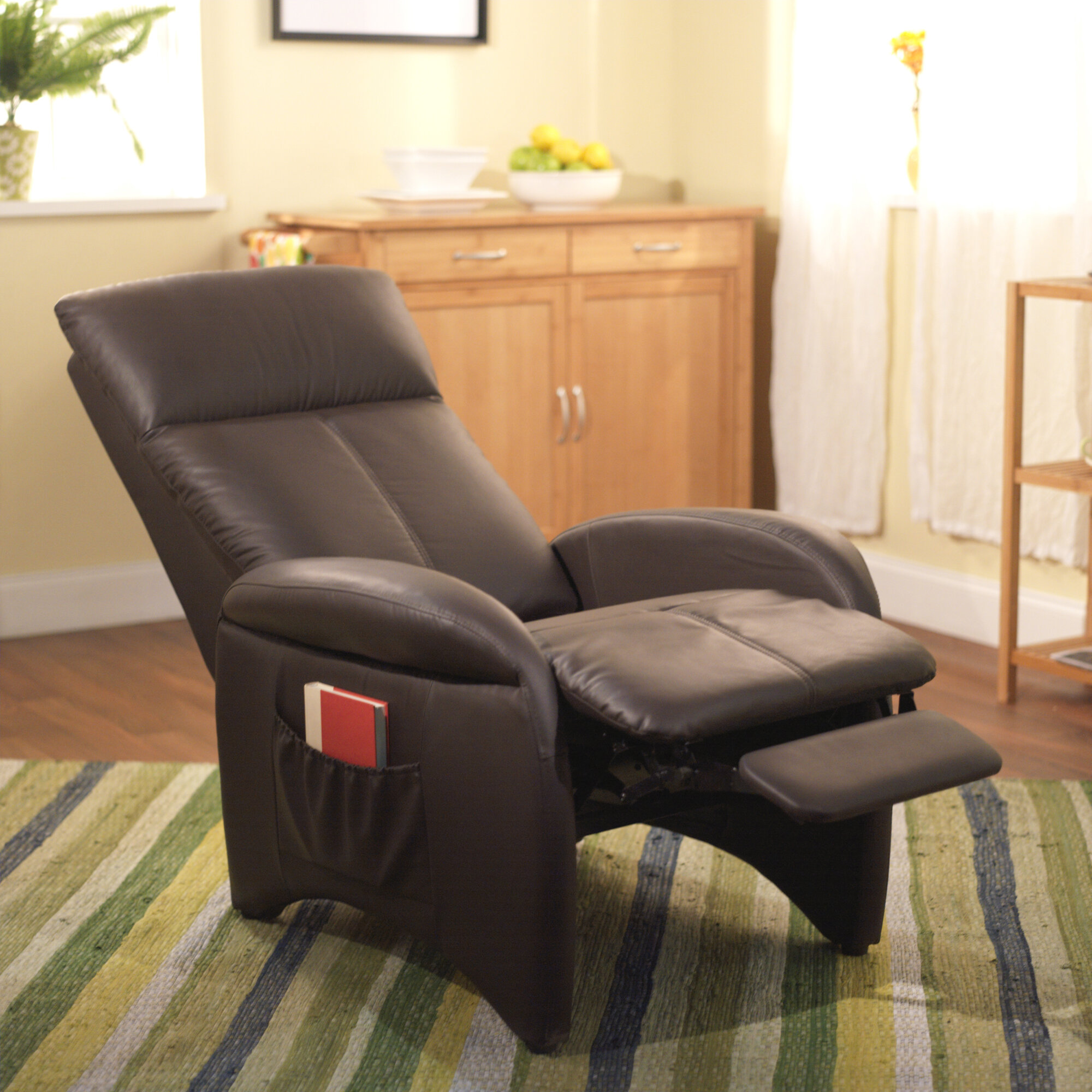 faux leather recliner chair lounge furniture lazy boy