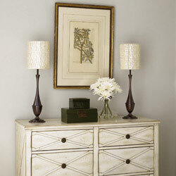 dresser top decorating