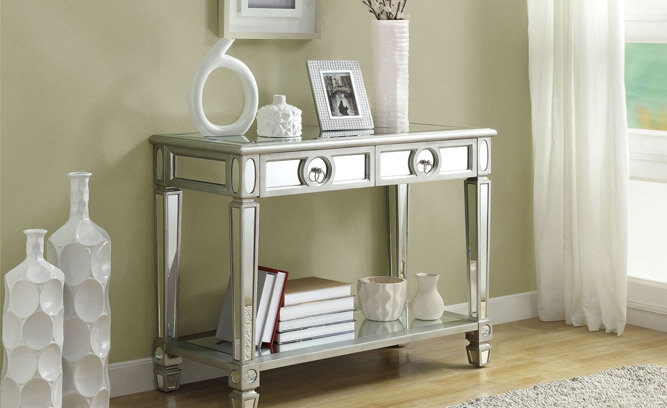 Get The Look Mirrored Accent Furniture Inspired By