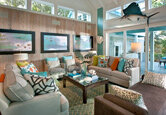 Bright Beachy Living Room