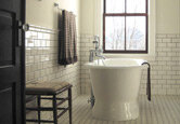A Vintage Bathroom on Any Budget