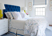 Get the Look: Blue and White Bedroom