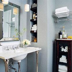 6 budget friendly bathroom ideas wayfair for Design on a dime small bathroom