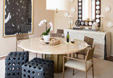 Get the Look: Textural, Neutral Dining Room