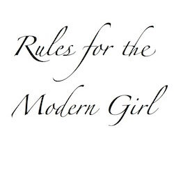 rules for the modern girl