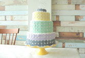 DIY Wedding Cake: Candy Wafer Wedding Cake