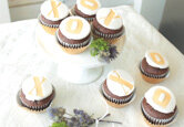 DIY Wedding Cake: XO Wedding Cupcakes