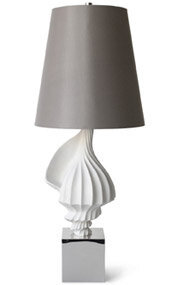 1 Light Shell Table Lamp