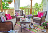 How to Brighten Up a Porch