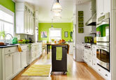 Kitchen: A Bright, Colorful Space