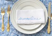 DIY Custom Napkins