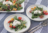 Burrata and Peach Salad
