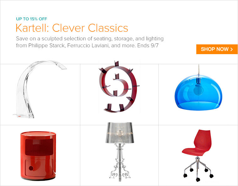 Kartell Office + Lighting Sale