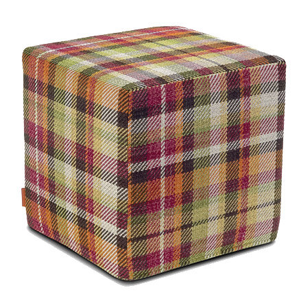 plaid stool
