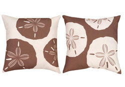 sand dollar pillows