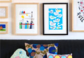 Decorating with Youthful Wall Art