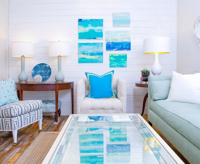 Decorating with Ocean Hues - Inspired By... | Wayfair