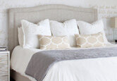 A Soft and Romantic Master Bedroom Update