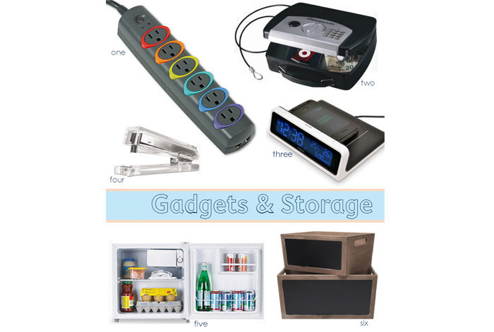 gadgets and storage