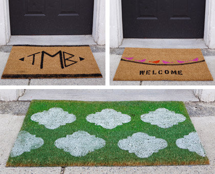 Diy 3 Doormat Crafts Book Review Wayfair