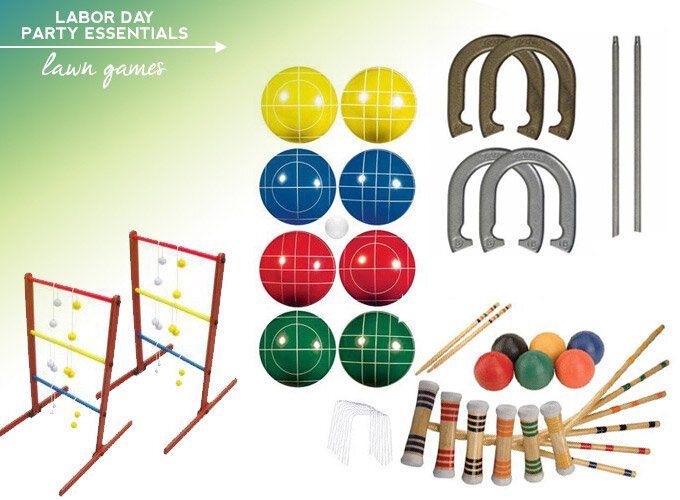 labor day essentials lawn games