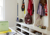 5 Tips for Mudroom Organization
