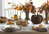 Decorate a Festive Thanksgiving Table