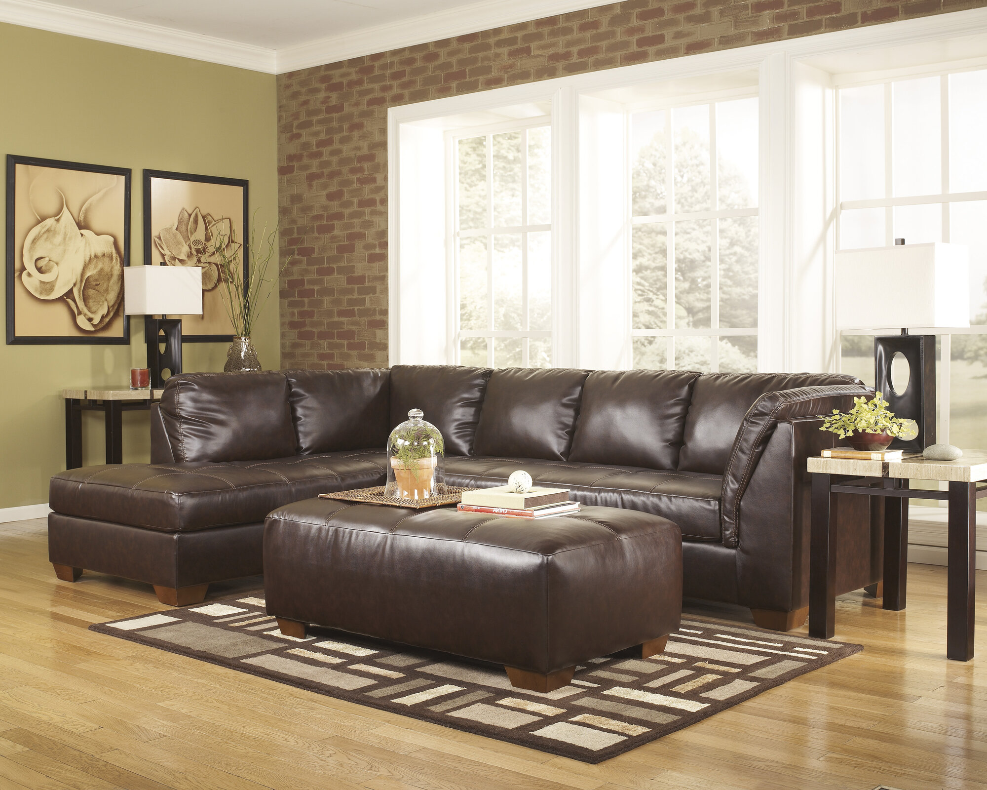 Ezcreditwarehouse No Credit Signature Design By Ashley Kinston Sectional