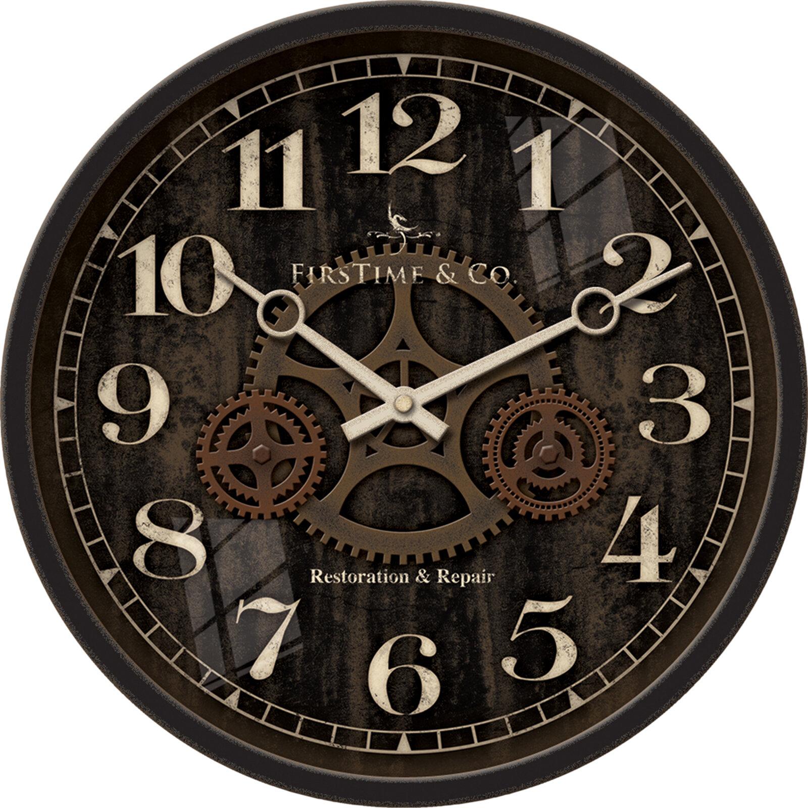 Industrial Wall Clocks Webnuggetz Com