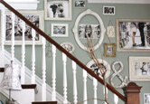 9 Ideas for Decorating Your Staircase