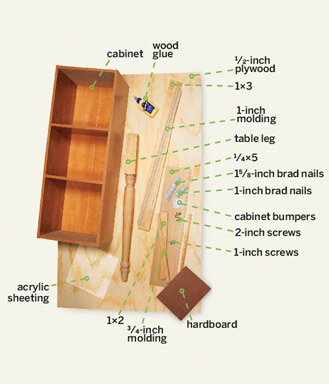 build a desk with hutch