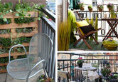Decorate a Small Balcony