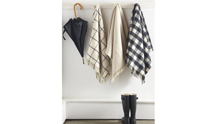 mudroom throw
