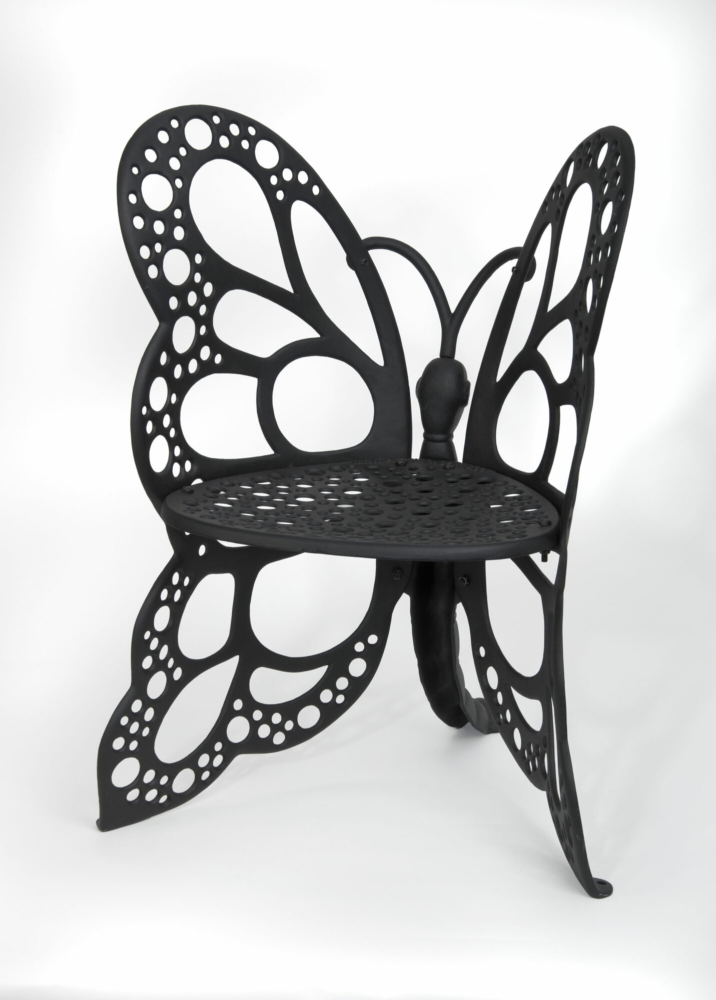 Idea nuova realtree outdoor butterfly papasan chair - Art House Craft Metal Vintage Butterfly Design Seat Chair