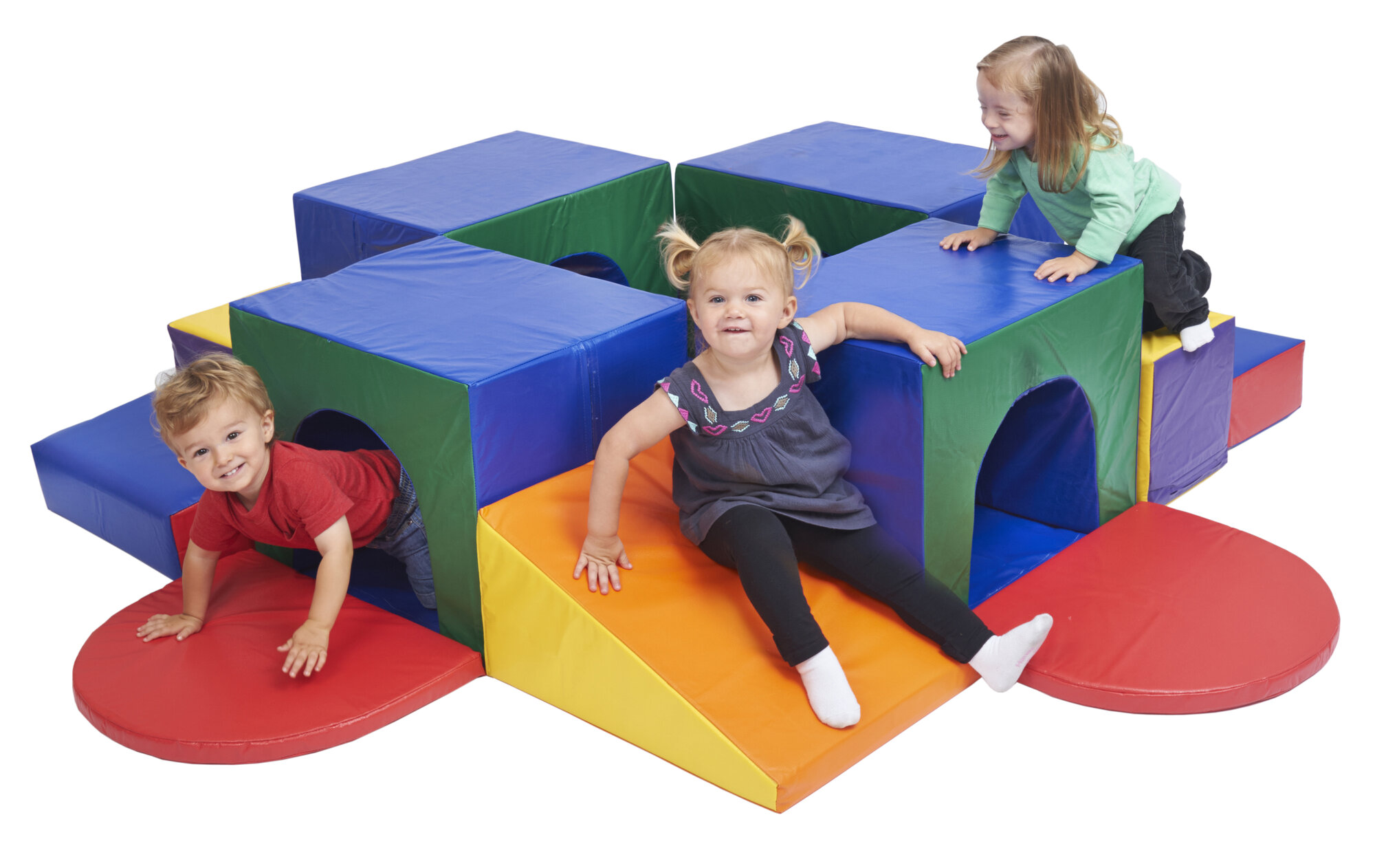 Soft Play Furniture Block with Kids ECR4Kids