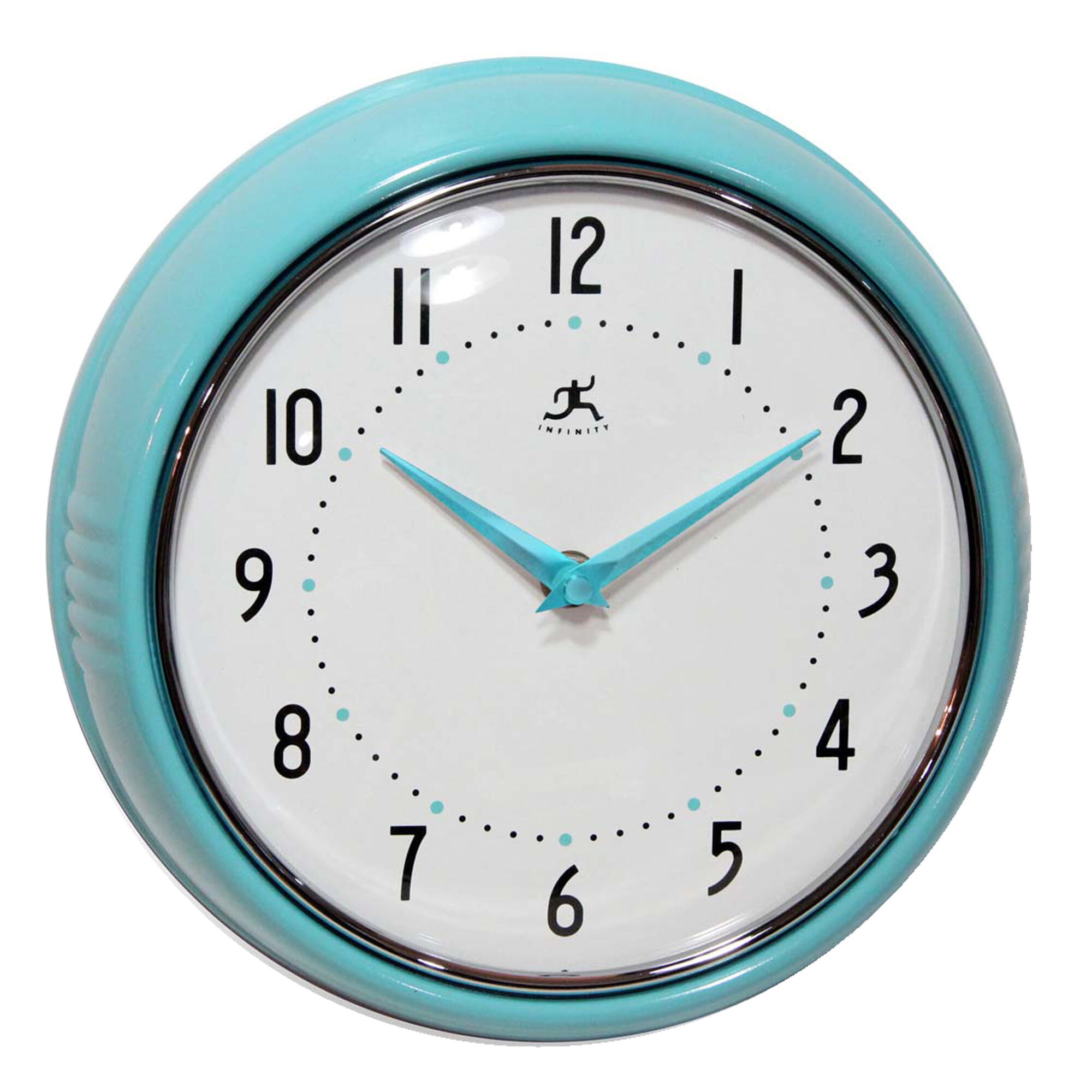 Retro Metal Wall Clock Kitchen Vintage Party Beach Bar