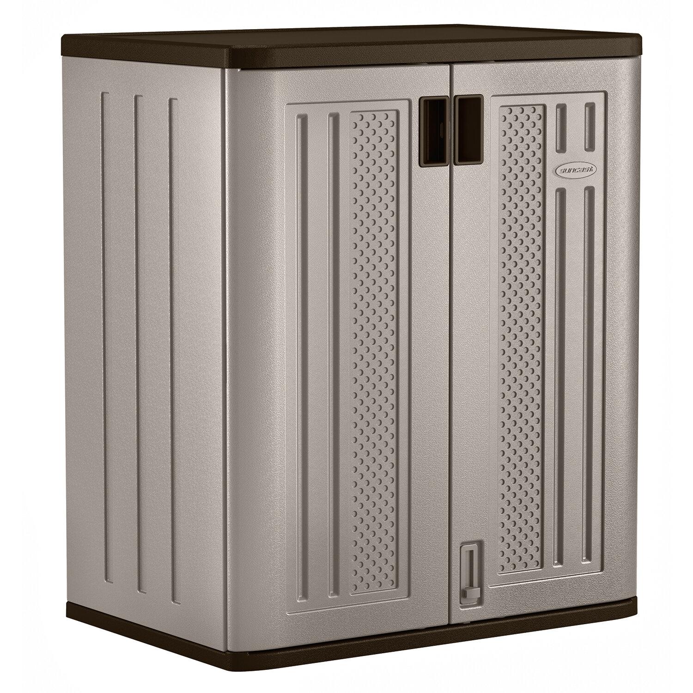 Garage Storage Cabinet Adjustable Shelves Portable ...