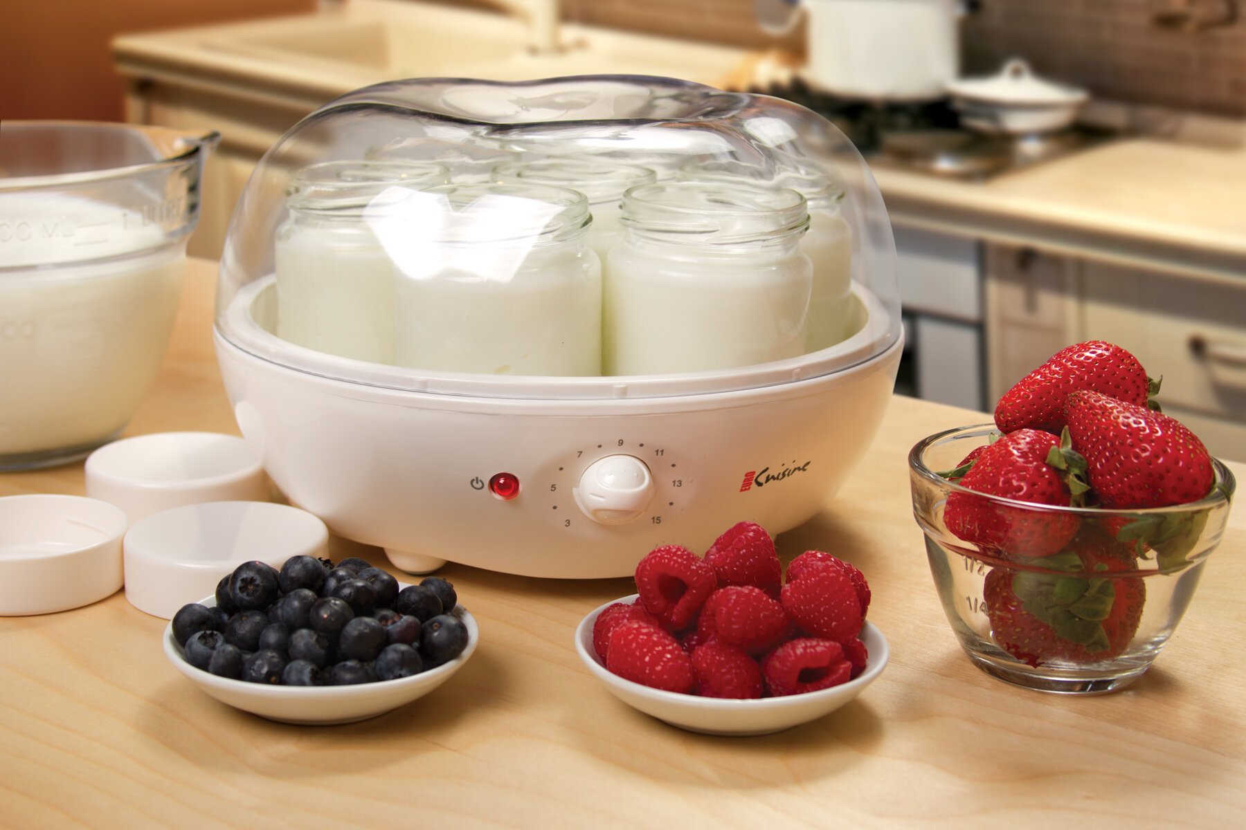 Automatic yogurt maker electric machine ice cream euro for Cuisine yogurt maker recipe