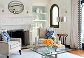 Living Room: A Soft and Light Scheme