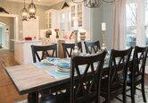 A Stylish Open Dining Room