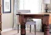 Get the Look: Feminine, Rustic Home Office