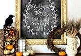 Decorate with Seasonal Chalkboard Art