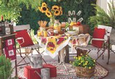 Outdoors: French Country Patio