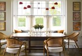 Warm Dining Room Decor