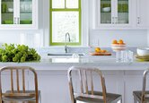 Cheerful Contemporary Kitchen